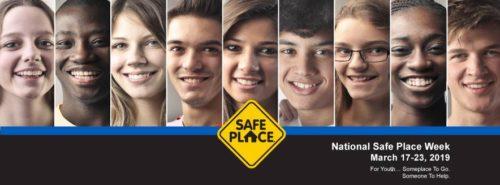Raising Awareness During National Safe Place Week 2019