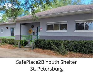 SafePlace2B Youth Shelter St. Petersburg