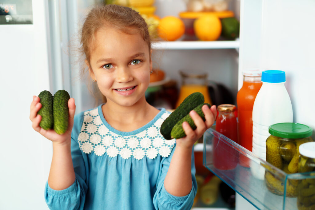 get kids to eat healthy